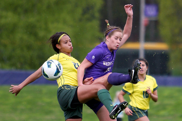 UW Women v Oregon - Spring